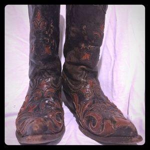 Shoes - Goat Skin Cowboy Boots